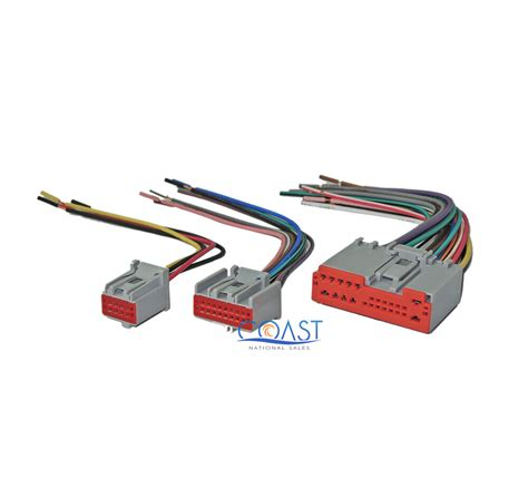 Ford Escape Radio Wiring Harnes by Car Stereo Radio Wiring Harness Plugs To Factory Radio For