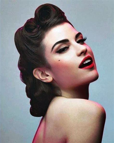 Hairstyles For 50s 50s hairstyles 11 vintage hairstyles to look special