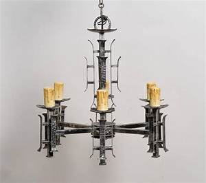Asian style silvered chandelier for sale at stdibs