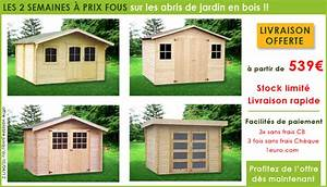 Prix Abri De Jardin : les deux semaines a prix fous sur les abris de jardin en ~ Dailycaller-alerts.com Idées de Décoration