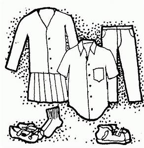 Clothing clothes clip art black and white free clipart ...