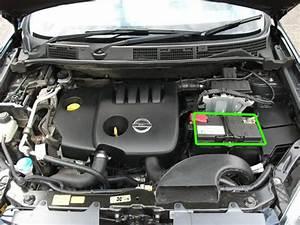 Nissan Quashquai Car Battery Location