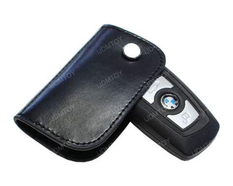 Bmw Black Leather Key Holder
