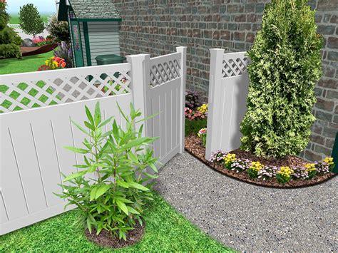 landscaping fences landscape design software by idea spectrum realtime