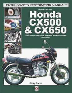 Honda Cx500 Cx650 Your Step By Step Color Restoration