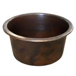 diego compact copper bar prep sink trails