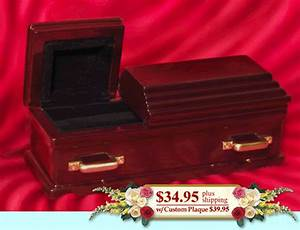 wedding ring coffin details With wedding ring coffin