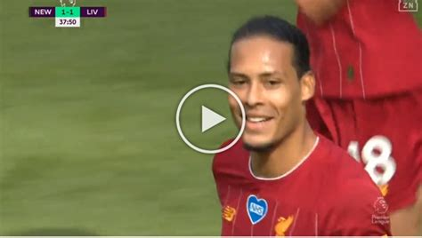 Van Dijk goal vs Newcastle (VIDEO) - EPL Scouts