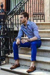 Best 25+ Blue Pants Men ideas on Pinterest | Casual mens clothing Menu0026#39;s casual wear and Man ...