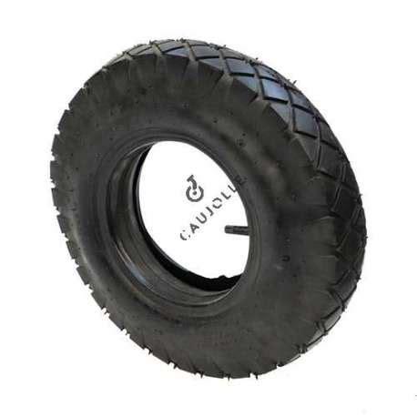 pneu et chambre à air pour brouette ensemble pneu chambre de brouette diamètre 400 mm 4 80