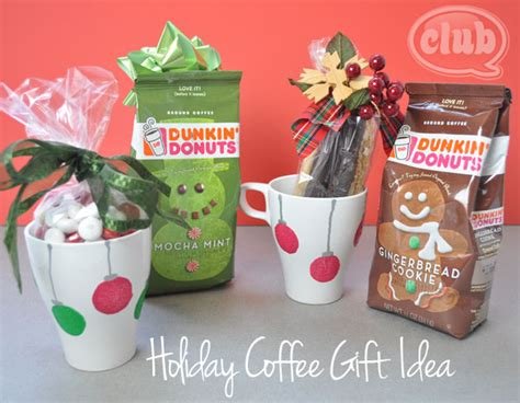 craft gift ideas homemade holiday coffee gift idea