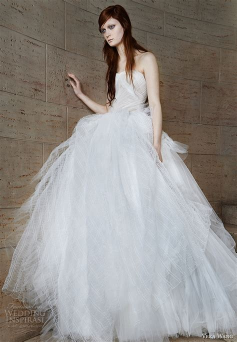 vera wang spring  wedding dresses wedding inspirasi