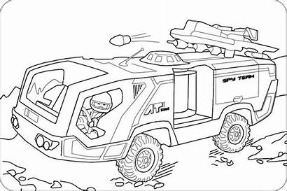 Playmobil Coloring Ausmalbilder Polizei Malvorlagen Ausmalen Zum