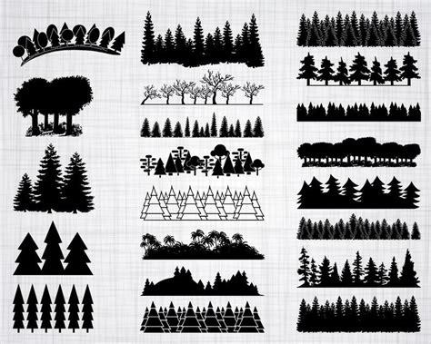 forest svg bundle forest svg tree svg forest clipart cut
