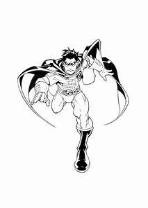 Robin The Boy Wonder Of 1966 - Free Coloring Pages