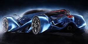 XC 04, supercar concept on Wacom Gallery