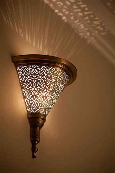 moroccan sconce indoor wall sconce wall sconce by fezalley - Indoor Sconces