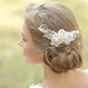 Wedding Hair Piece Bridal Haircomb Rustic Wedding Hair