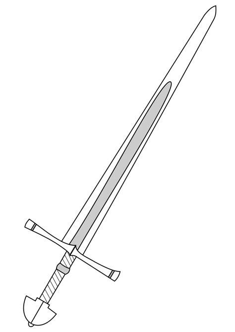 sword template sword vector clipart best
