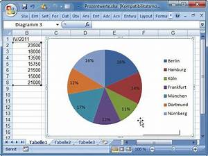 Alter In Excel Berechnen : diagramm mit prozentangaben com professional ~ Themetempest.com Abrechnung