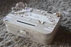 urne mariage valise urne mariage vintage valise