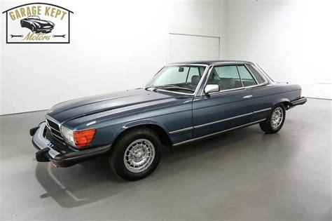 This car has automatic transmission, 8 cylinders, 14″ wheels and beige interior. 1980 Mercedes-Benz 450SLC for sale #1194 | MCG