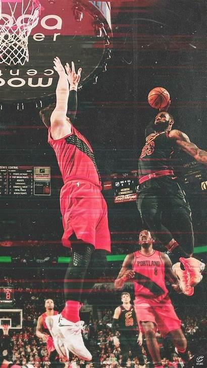 Lebron James Dunk Wallpapers Jordan Michael Lakers