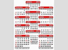 Mini Calendário 5x5 Bloco Para Ímã Geladeira 2018 1000