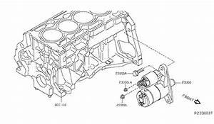 2014 Nissan Sentra Starter Motor