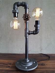 Lampe Type Industriel : 1001 id es meuble industriel une retraite d corative bien m rit e ~ Melissatoandfro.com Idées de Décoration