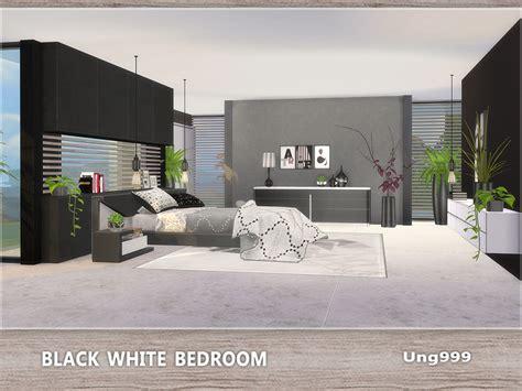 ungs black white bedroom