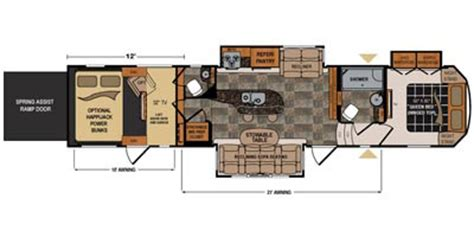 dutchmen voltage hauler floor plans wantfacts recreationalvehicle 2015 dutchmen
