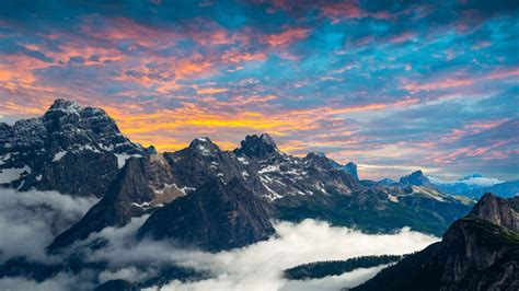 Dolomites Mountains 4k Wallpapers  Hd Wallpapers  Id #22785
