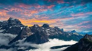 Dolomites, Mountains, 4k, Wallpapers