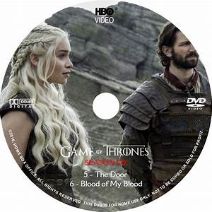 Game Of Thrones: Season 6, Volume 2 dvd cover & labels ...
