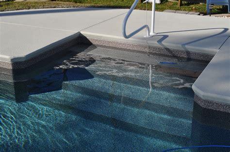 in pool steps 4 6