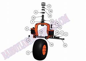 Bad Boy Mower Part  2011 Diesel Front Wheel Assembly