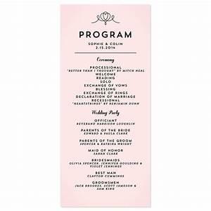 simple wedding programs google search wedding With wedding invitation program online