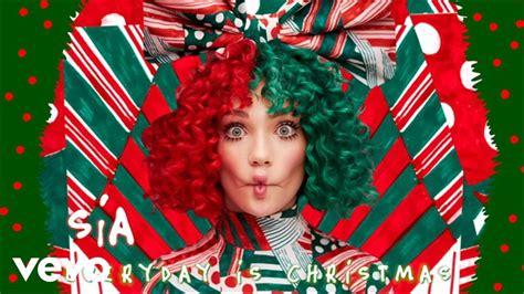 sia everyday is christmas youtube
