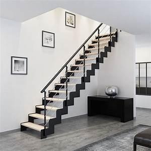Escalier bois métal altair Les Matériaux