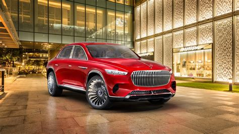2018 Vision Mercedes Maybach Ultimate Luxury 4k Wallpaper