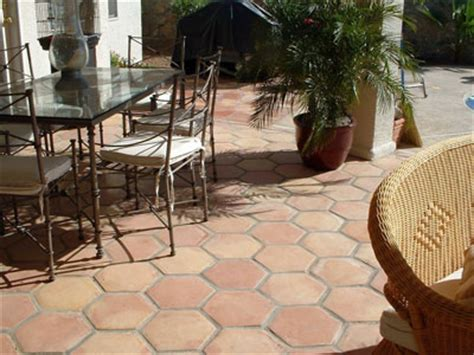 mexican tile patio images