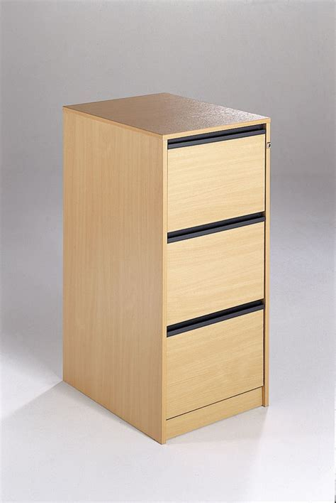Maestro Wooden Filing Cabinet 3 Drawer