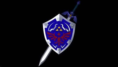 Shield Sword Master Hylian Zelda Breath Wild