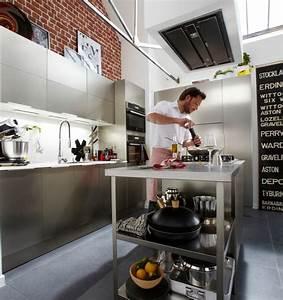 Ilot Central Cuisine Leroy Merlin : hotte de cuisine conseils avant d 39 acheter c t maison ~ Melissatoandfro.com Idées de Décoration