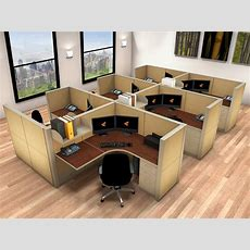 Systems Office Furniture  5x5 Cubicle Workstations