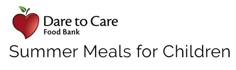 Dare To Care Summer Meals For Children Locations And Times