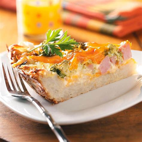 This is the one and only pie crust recipe i use. Potato Crust Quiche Recipe | Taste of Home