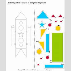 Cut And Paste Worksheets For Kids  Cut And Paste Pictures Worksheets
