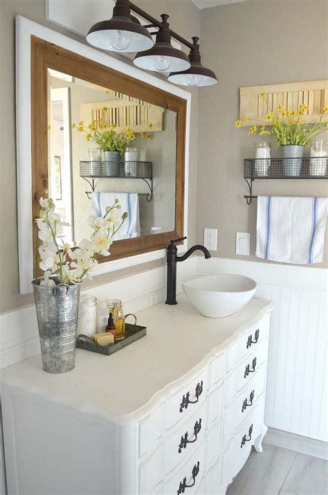 18 bathroom vanities 21 gorgeous farmhouse style bathrooms you will